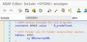 ABAP-Editor_Include<SYSINI>