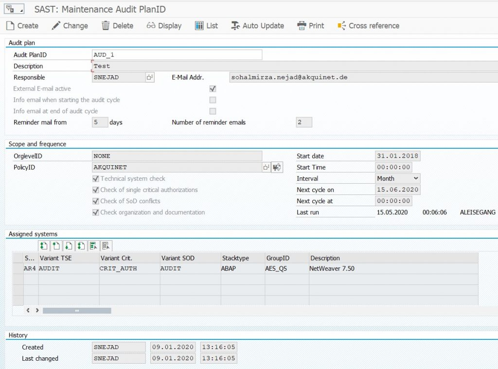 SAST Blog: How to Plan and Carry Out Your SAP System Audit with SAST Risk and Compliance Management