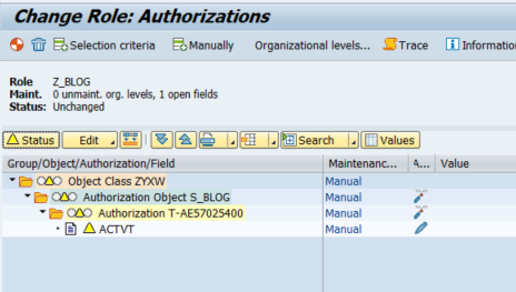 Practical tip: How you can avoid special roles and create a new organizational level in your SAP system based on an authorization field